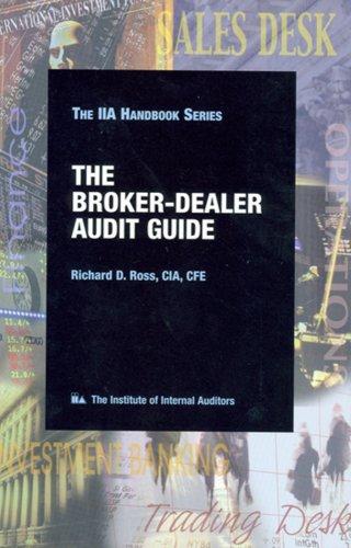 9780894134593: Broker-Dealer Audit Guide (The IIA handbook series)