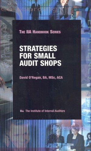 9780894134708: Strategies for Small Audit Shops, 2nd Edition (IIA handbook series)