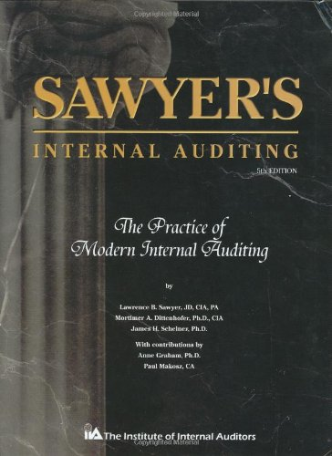 9780894135095: Sawyer's Internal Auditing: The Practice of Modern Internal Auditing