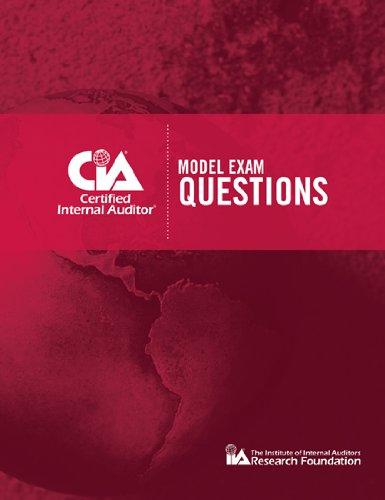 9780894135309: CIA Model Exam Questions- IPPF ALIGNED