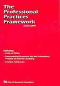 The Professional Practices Framework (0894135589) by Institute of Internal Auditors