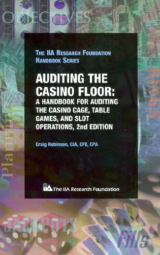 Auditing cage casino game handbook operations slot table casino lujo