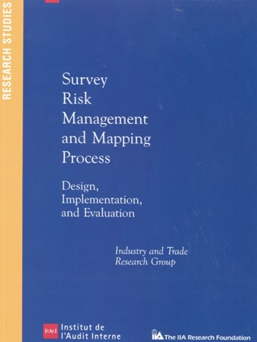 9780894135729: Survey Risk Management and Mapping Process: Design, Implementation, and Evaluation