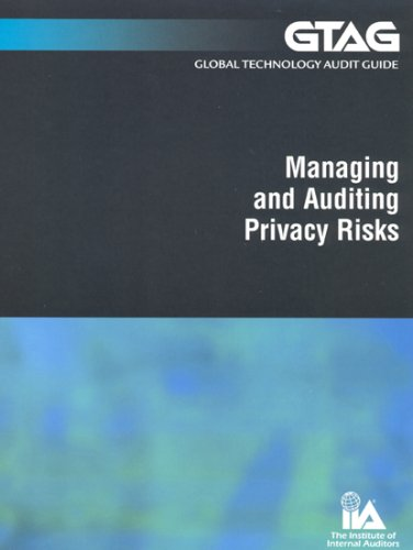 9780894135958: Global Technology Audit Guide 5: Managing and Auditing Privacy Risks