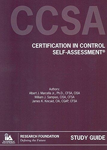 9780894136023: Certification in Control Self-Assessment (CCSA®) on CD