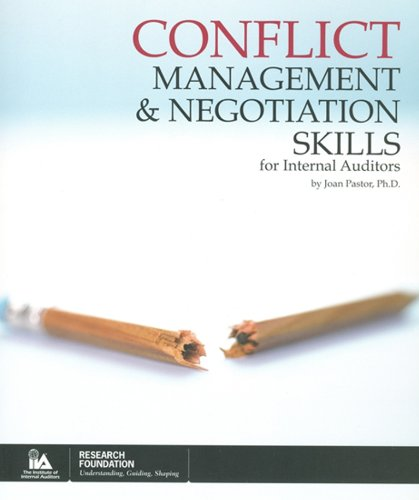 9780894136085: Conflict Management and Negotiation Skills for Internal Auditors