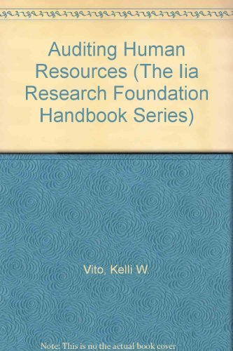 9780894136146: Auditing Human Resources, 2nd Edition (The Iia Research Foundation Handbook Series)