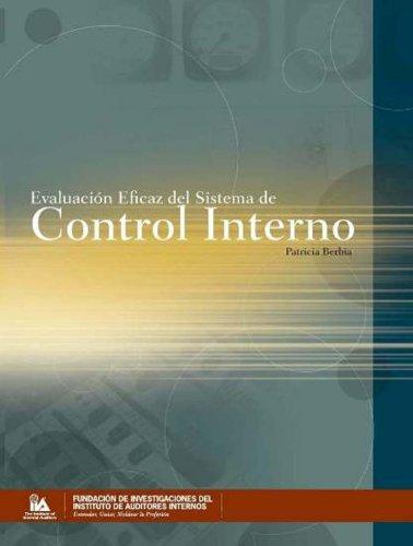 9780894136214: Evaluacion Eficaz del Sistema de Control Interno (Spanish Edition)