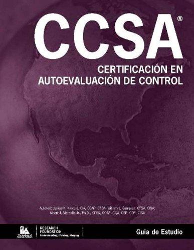Certificación en Autoevaluación de Control (CCSA®) -: James K. Kincaid