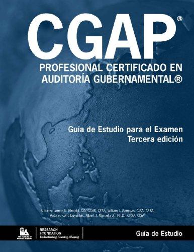 9780894136313: Profesional Certificado en Auditoría Gubernamental (CGAP®) - Guía de Estudio (Spanish Edition)