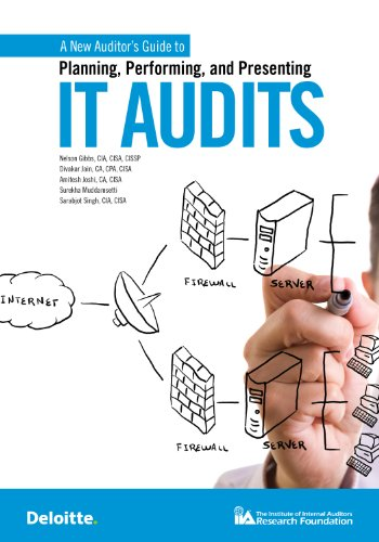 A New Auditor's Guide to Planning, Performing, and Presenting IT Audits: Nelson Gibbs/ CIA/ ...