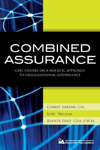 9780894137273: Combined Assurance: Case Studies on a Holistic Approach to Organizational Governance