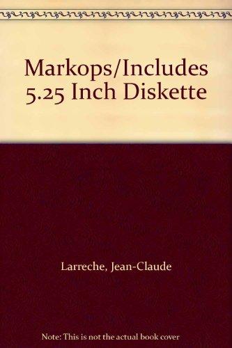 9780894262029: Markops/Includes 5.25 Inch Diskette