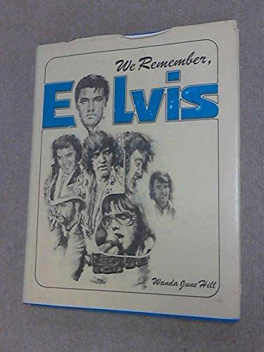 9780894300288: We Remember, Elvis