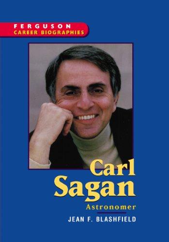 9780894343742: Carl Sagan (Ferguson Career Biographies)