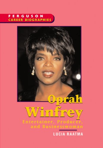 9780894343766: Oprah Winfrey (Ferguson Career Biographies)