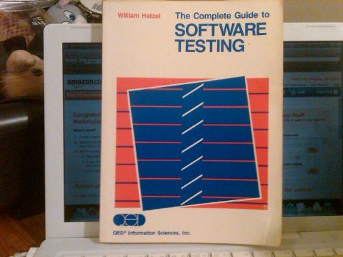 9780894351105: Complete Guide to Software Testing