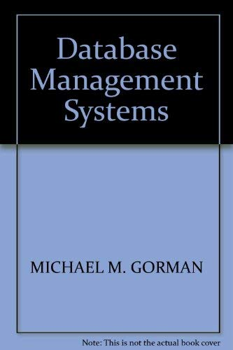 9780894353239: Database management systems: Understanding and applying database technology