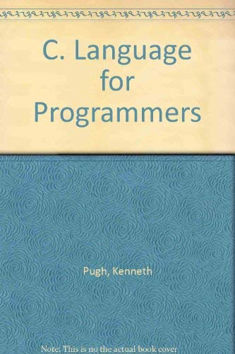 9780894353673: C Language for Programmers