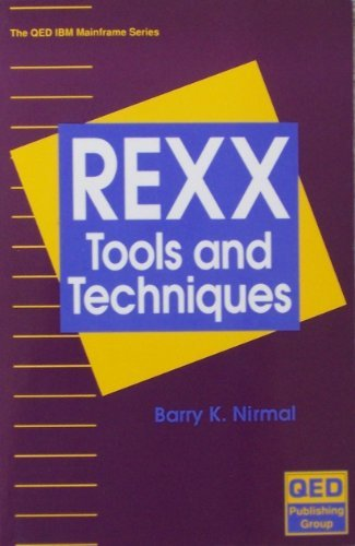 9780894354175: Mastering Rexx Execs and Utilities for MVS and Other Systems (The QED IBM mainframe series)