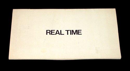 Real Time, Eve Sonneman, 1968-1974: Eve Sonneman
