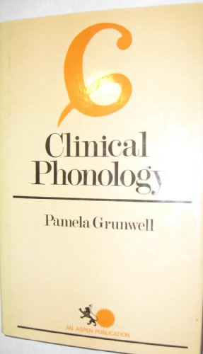 9780894433924: Clinical phonology