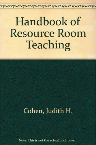 9780894436536: Handbook of Resource Room Teaching
