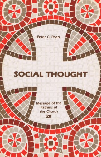 9780894533310: Social Thought (Message of the Fathers of the Church #20)