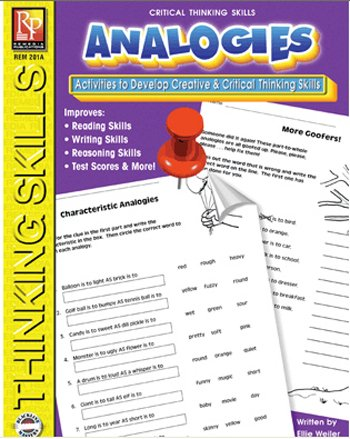 9780894550010: Analogies: Activities to Develop Creative & Critical Thinking Skills