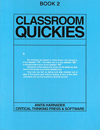 9780894550140: Classroom Quickies: Book 2/Mp 9.03