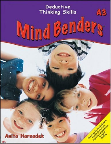 Mind Benders Grades 3-6+ Book A3: Deductive: Harnadek