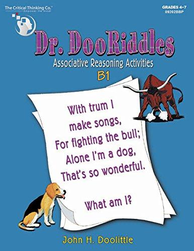 9780894554384: Dr. Dooriddles: B1