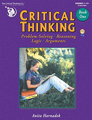 9780894556418: Critical Thinking Book One (Grades 7-12)