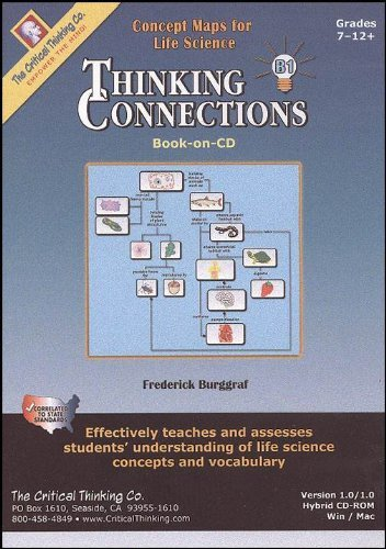 9780894557019: Thinking Connections Book B: Concepts Maps for Life Science
