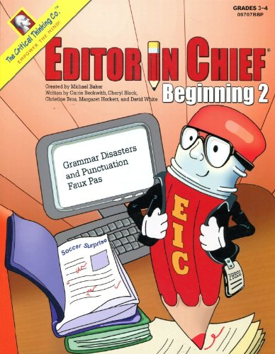 9780894557668: Editor In Chief Beginning Book: Grammar Disasters and Punctuation Faux Pas (Editor in Chief Beginining)