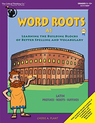 9780894558047: Word Roots Learning: The Building Blocks of Spelling and Vocabulary (Level A: Grades 4-6)