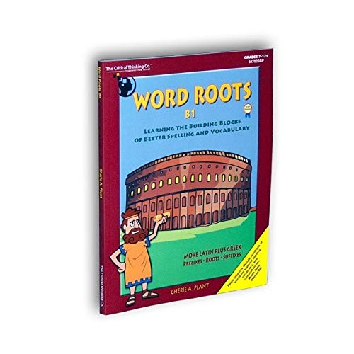 9780894558054: Word Roots: Learning the Building Blocks of Better Spelling & Vocabulary, Level B, Book 1