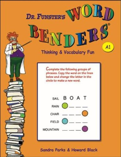 9780894558122: Dr. Funster's Word Benders: Thinking & Vocabulary Fun A1
