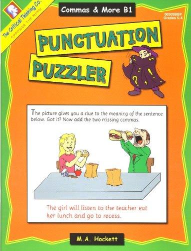 Punctuation Puzzler - Commas and More B1: Margaret Hockett
