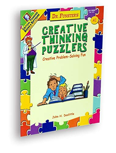 9780894558269: Dr. Funster's Creative Thinking Puzzlers: Creative Problem-solving Fun, Level A, Book 1