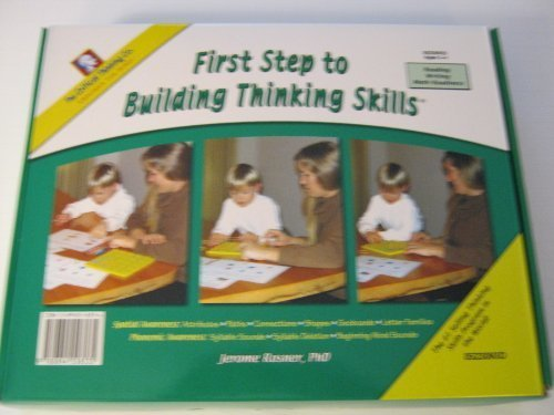 9780894558535: First Step to Building Thinking Skills (Ages 3-4)