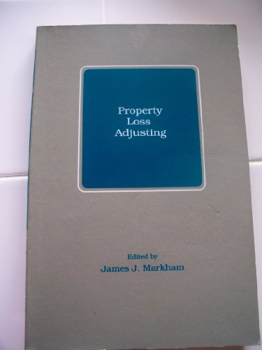 9780894620508: Property Loss Adjusting: Two Texts and Course Guide