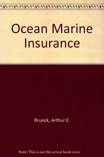9780894620713: Ocean Marine Insurance, 2nd Edition (2 Volumes)