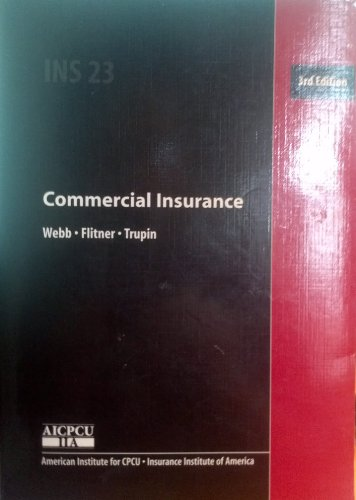 9780894620980: Commercial Insurance