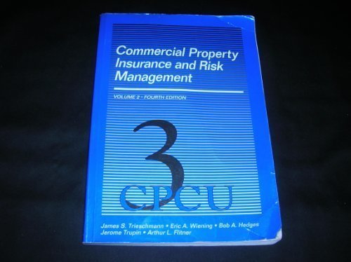 9780894630682: Commercial Property Insurance and Risk Management (Vol. 2)