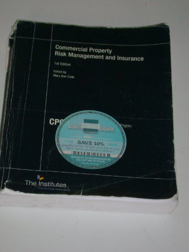 9780894634147: Commercial Property Risk Management and Insurance (CPCU)
