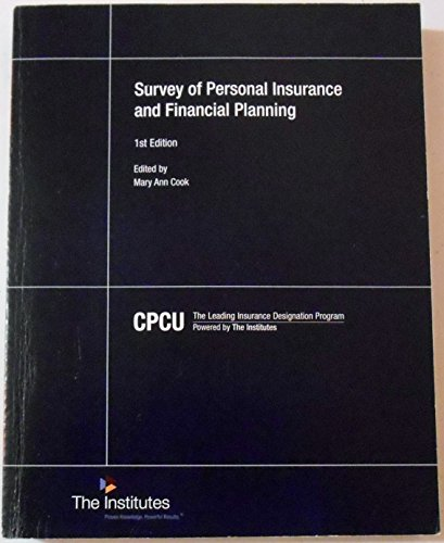 Survey of Personal Insurance and Financial Planning