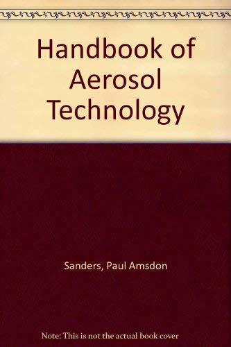 9780894642456: Handbook of Aerosol Technology