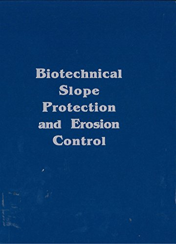 9780894642593: Biotechnical Slope Protection and Erosion Control