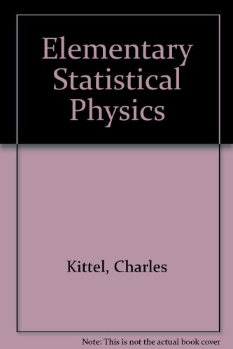 9780894643262: Elementary Statistical Physics